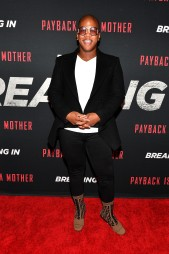 "ATLANTA, GA - APRIL 22: Lawrence ""Miss Lawrence"" Washington attends ""Breaking In"" Atlanta Private Screening at Regal Atlantic Station on April 22, 2018 in Atlanta, Georgia. (Photo by Paras Griffin/Getty Images for Universal Studios)"