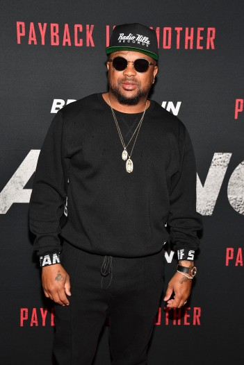 "ATLANTA, GA - APRIL 22: Recording artist The Dream attends ""Breaking In"" Atlanta Private Screening at Regal Atlantic Station on April 22, 2018 in Atlanta, Georgia. (Photo by Paras Griffin/Getty Images for Universal Studios)"